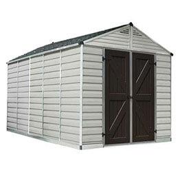 Narzędziowy domek do ogrodu SkyLight 8 x 12 tan