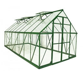 Szklarnia z poliwęglanu Balance Green 2,44 x 4,87 m Palram