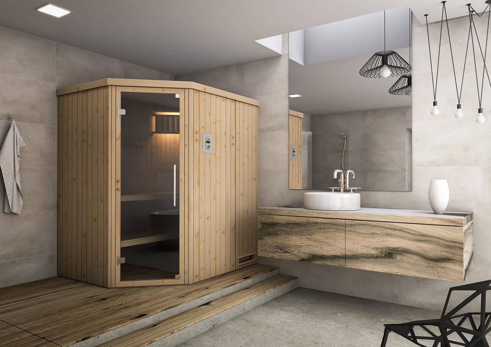 Sauna fińska 1815EW1