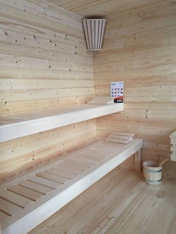 Drewniana sauna ogrodowa Magnolia 3,5x2 m