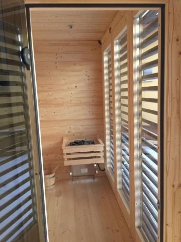 Drewniana sauna ogrodowa Magnolia 3,5x 2 m