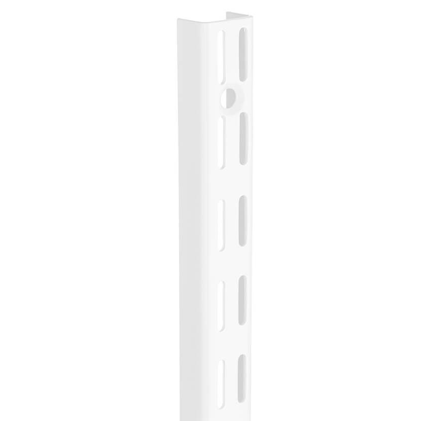Szyna pionowa V biały 16x25x700 mm