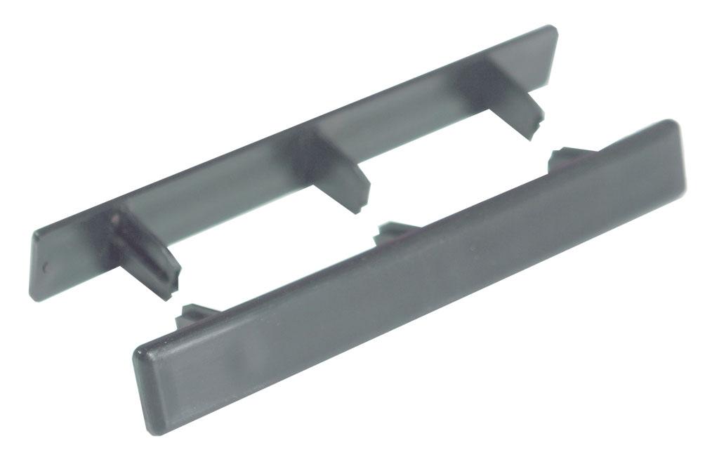 Zaślepka do deski grafit 140mm x 22mm (10 szt.)