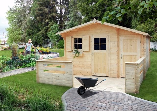 Domek ogrodowy Zawilec